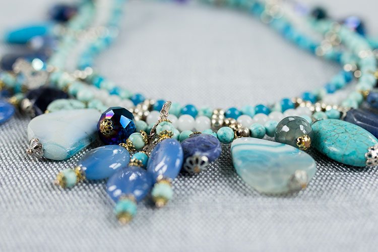 Semi precious jewelry