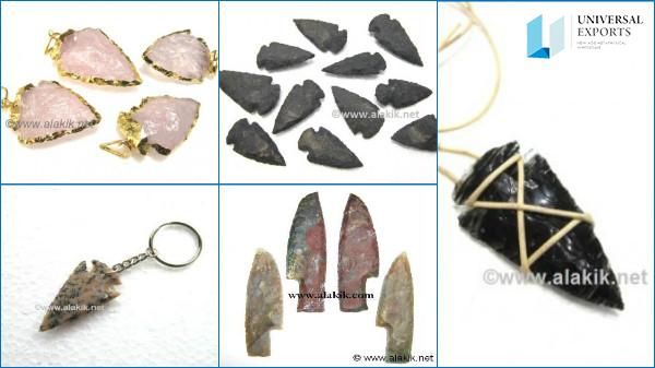 Wholesale Agate Arrowhead Products