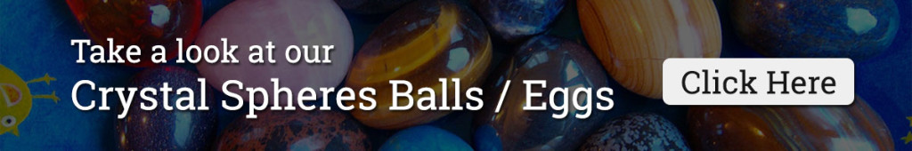 Crystal Spheres Balls Eggs for Sale
