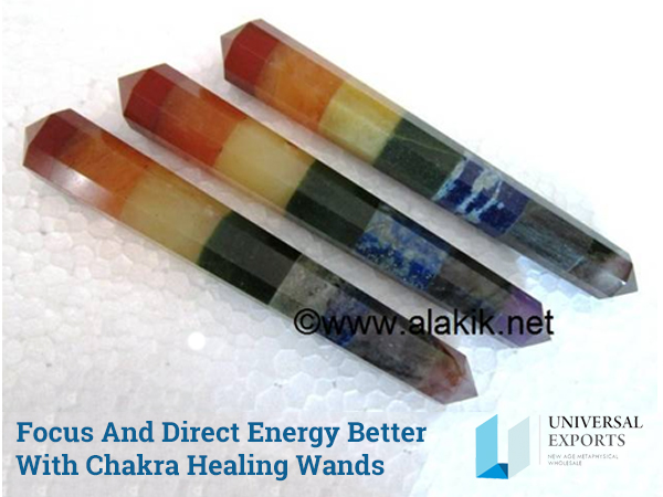 Focus And Direct Energy Better With Chakra Healing Wands-Alakik--Universal-Exports
