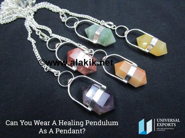 Wear A Healing Pendulum As A Pendant-Healing Pendulum Wholesaler in USA