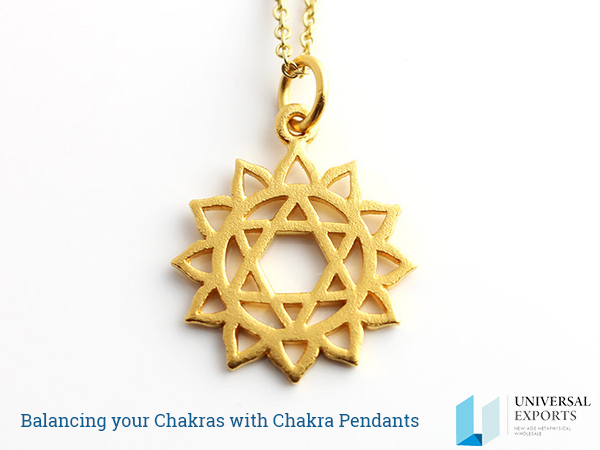 Balancing your Chakras with Chakra Pendants-Alakik-Universal Exports