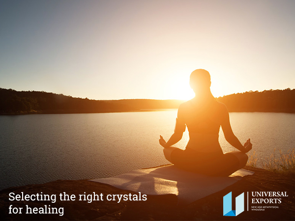 Selecting the right crystals for healing-Alakik-Universal Exports