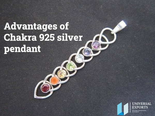 Advantages of Chakra 925 silver pendant